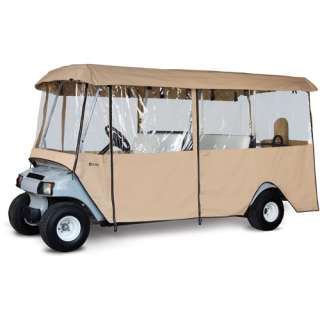 Classic Accessories Deluxe 4 Sided Golf Car Enclosure