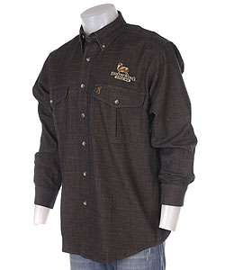 Browning Mens Denim Shirt w/Deer Embroidery