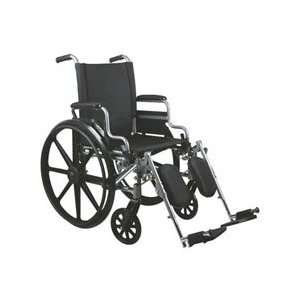 EA/EA,1 CS/EA WHEELCHAIR,K4 BASIC,18,DLA,ELR Medline MDS806550E