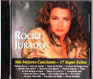 Rocio Jurado Mis Mejores Caciones 17 Exitos CD 077774279222