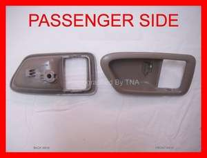 Right   Beige/Tan Inside Interior Door Handle Trim Casing 1997 98 99