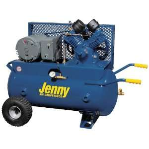 Jenny Single Stage Wheeled Portable Electric Motor Air Compressors:1