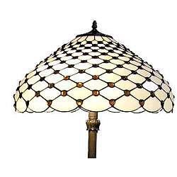 Tiffany style Jewel Floor Lamp