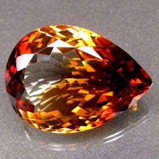 37.31ct.BIG AAA UNHEATED 100%NATURAL TOP IMPERIAL TOPAZ FLASHING NR