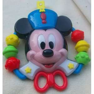 Disney Mickey Mouse Vintage Crib Attachment Toy Toys