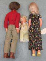 Mattel Steve, Stephanie & Baby Sunshine Family dolls   Set of 3
