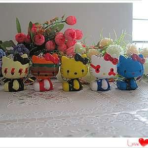 Cute 5pcs Hello Kitty Decoration Figure Doll