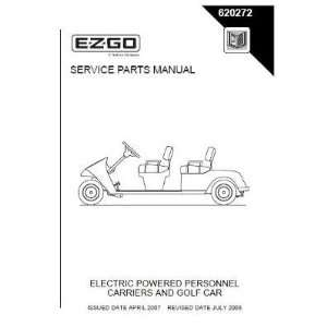 Service Parts Manual for Electric TXT Personnel Carrier and Golf Cars