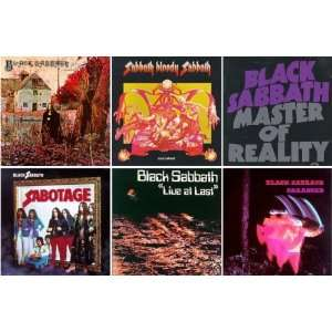 Live At Last / Sabbath Bloody Sabbath / Master Of Reality / Black