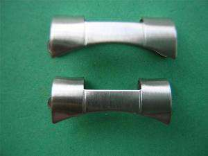ROLEX OYSTER STYLE 19mm CURVED BAND ENDS BRUSHED FINISH