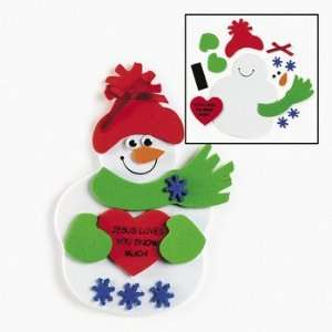 Jesus Loves You Snow Much Magnet Craft Kit   Craft Kits & Projects