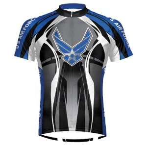 NEW U.S. Air Force Stealth Mens Cycling Jersey   XL