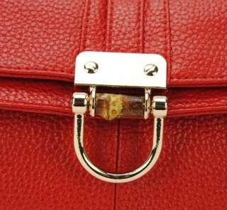 Womens Genuine Leather Clutch Purse Crossbody Folded Bag Shoulder