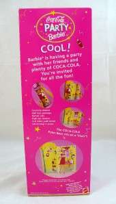 1998 Coca Cola Party Barbie Special Edition NIB