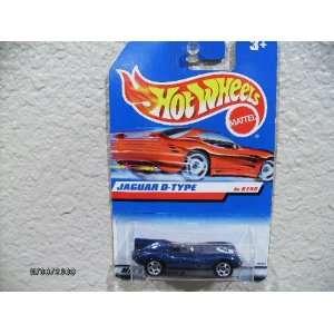 Hot Wheels Jaguar D Type 1998 First Editions #638 5 Spoke