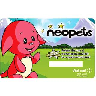 Neopets Gift Card Gift Cards Unnav