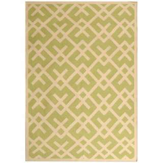 Safavieh Dhurries Light Green/Ivory Rug Decor