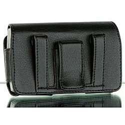 Premium Samsung Intercept Leather Horizontal Case