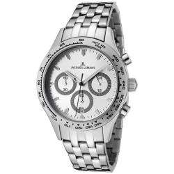 Jacques Lemans Mens Capri Stainless Steel Chronograph Watch