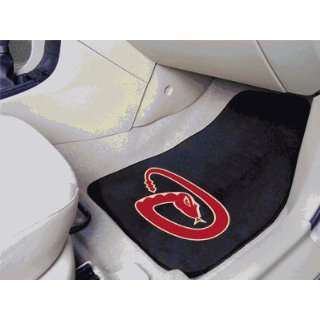 MLB   Arizona Diamondbacks   Car Mats 2 Piece Front