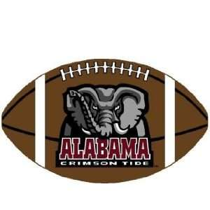 Alabama Crimson Tide Football Rug  Sports & Outdoors