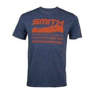 Smith Heritage T Shirt   2X Large/Navy Blue Automotive