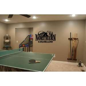 NCAA Northern Colorado Bears Wall Mural Vinyl Sticker Sports