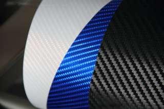 3D Twill Weave Carbon Fiber Vinyl Film Di NOC 12 x 51