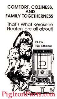 Portable Kerosene Heater Wick Shetland, Toyokuni 20401U