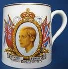 Hand Decorated 1937 Hammersley King Edward VIII Coronation Mug