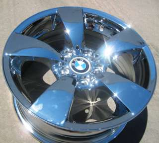 17 FACTORY BMW 525i 528i 530i 545i 550i RWD OEM CHROME WHEELS RIMS