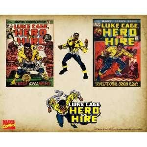 Marvel Comics Retro Luke Cage Comic Book Covers , 8 x 10