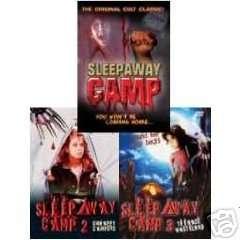 SLEEPAWAY CAMP 1, 2, & 3: Teen Terror Trilogy NEW 3 DVD 625282804292