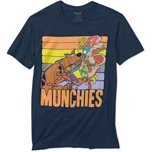 Big Mens Scooby Doo Munchies Short Sleeve Tee Mens Big