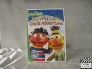 Sesame Street Bert and Ernies Great Adventures (DV 891264001885