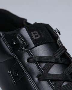 Knights Lancelot Lo Classic Low Cut Skate/Fashion Sneaker Black/White