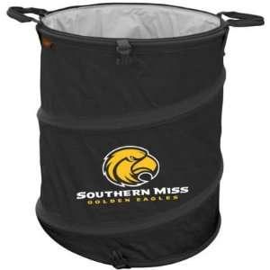 Southern Miss Golden Eagles Official Logo Trash Can Cooler