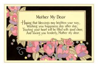 Poem for Mothers Day Prints at AllPosters