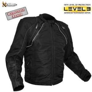 Xelement Advanced Armor Mens Taslan Mesh Motorcycle Jacket