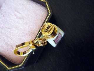 NIB Juicy Couture Malibu Gold Sun Tan Lotion Oil Charm