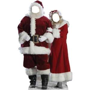 Advanced Graphics 896 Santa And Mrs. Claus Stand In Life