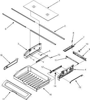 MAYTAG Maytag refrigeration Supplemental information Parts  Model