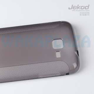 TPU Cover Case + Screen Protector 4 Samsung Galaxy Y Pro B5510 TXT JKD