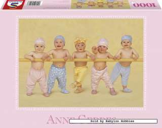 picture of Schmidt 1000 pieces jigsaw puzzle Anne Geddes   Wading