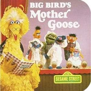 Big Birds Mother Goose Book  Shop Ticketmaster Merchandise