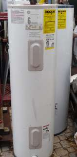 GE 40 Gal Water Heater 4500 Watt Double Element 240 V Electric