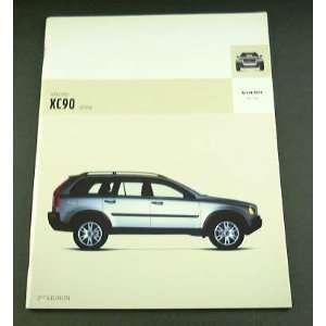 2004 04 Volvo XC90 Truck SUV BROCHURE 2.5T Awd T6