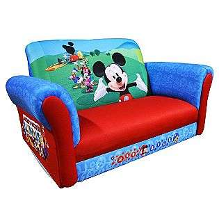 Disney Mickey Mouse Club House Sofa  Delta Baby Furniture Toddler