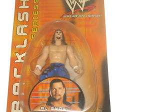 WWF Al Snow Wrestling Action Figure Doll WWE ECW TNA