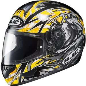 HJC CL 16 SLAYER FULL FACE MOTORCYCLE STREET HELMET YELLOW